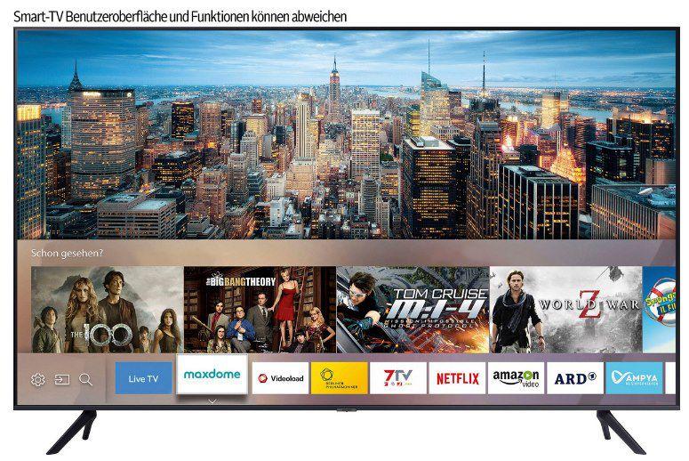 Samsung GU75AU7179U Crystal UHD LED Smart TV für 854€ (statt 1.078€)