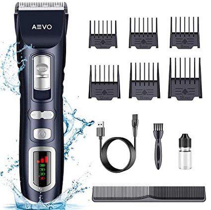 AEVO E001 Haarschneidemaschine mit viel Zubehör für 9,90€ (statt 33€)