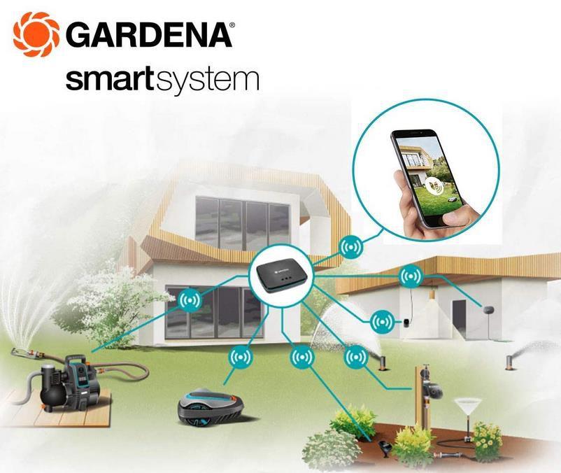 Gardena Smart Sensor für bedarfsgerechte Bewässerung für 75,50€ (statt 105€)