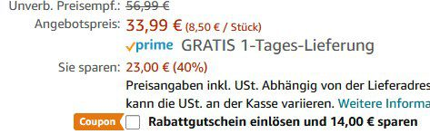 4er Set Teckin Smart RGB LED Birnen (E27) für 19,99€ (statt 40€)