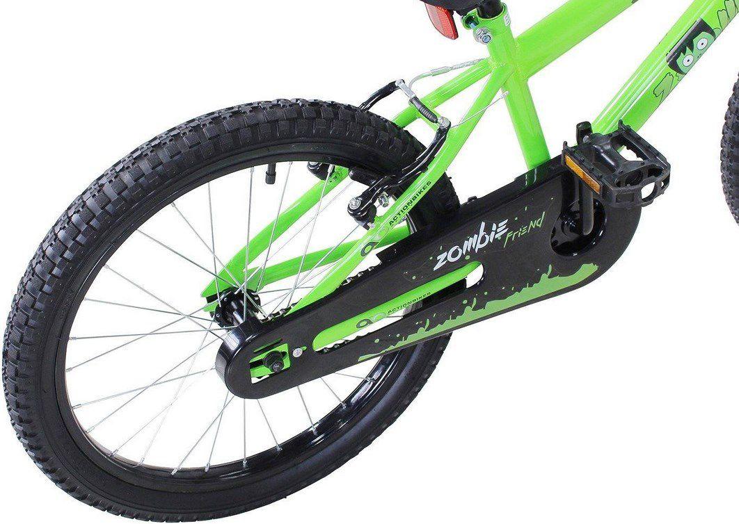 Actionbikes Kinderfahrrad 20 in Grün für 129,89€ (statt 150€)