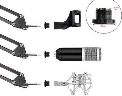 Shure MV7 K Podcast Mikrofon Bundle für 235,90€ (statt 394€)