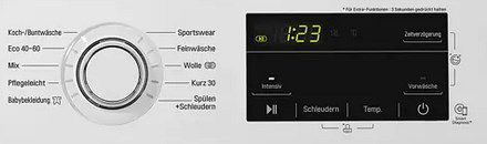 LG F14WM8KGE Waschmaschine 8 kg für 352,90€ (statt 409€)