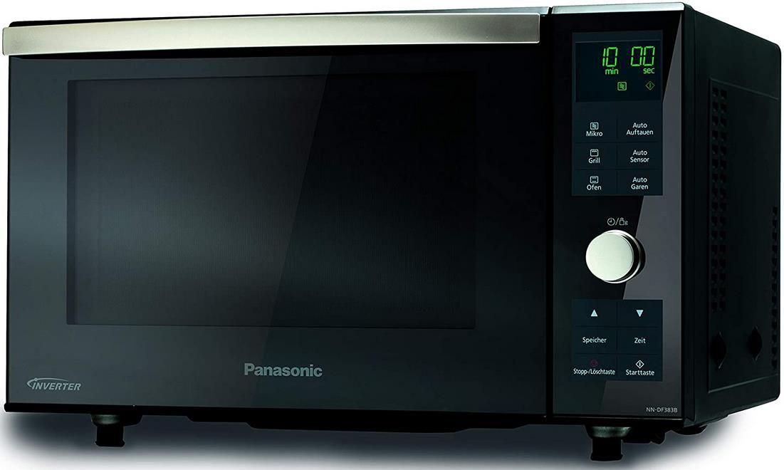 Panasonic NN DF383BGPG Mikrowelle mit 1000 Watt für 200,99€ (statt 246€)