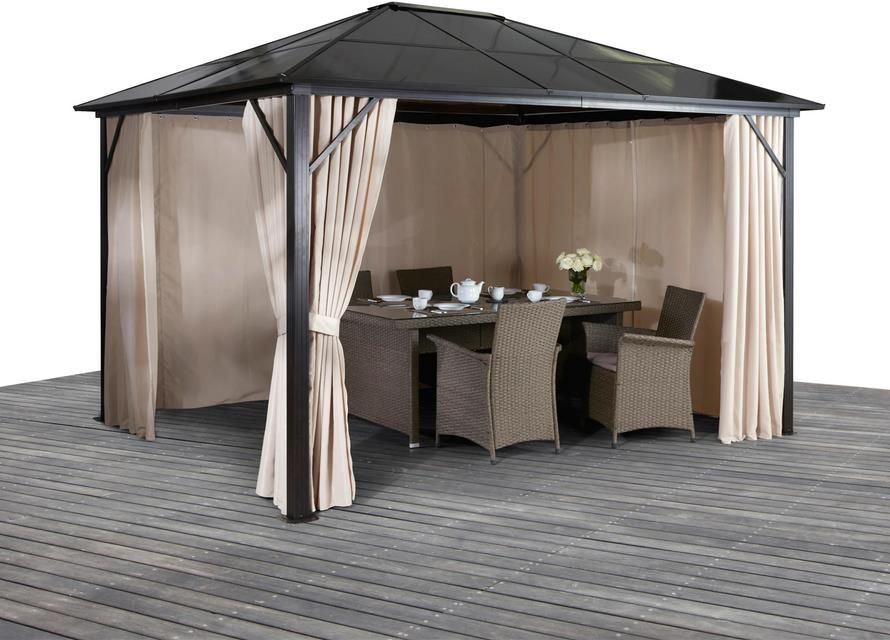 KONIFERA Pavillon   Aruba   300x300 cm für 494,99€ (statt 580€)