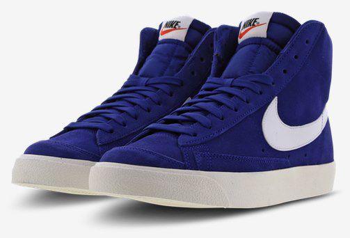 Nike Blazer Mid 77 Vintage Sneaker in Blau für 49,99€ (statt 84€)
