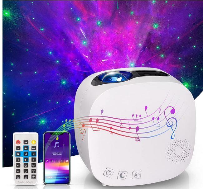 Giantarm Luce 1 Sternenhimmel Projektor mit Bluetooth für 25,99€ (statt 40€)