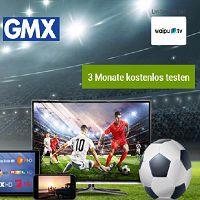3 Monate waipu.tv Perfect für GMX-Kunden kostenlos (statt ab ca. 36€)
