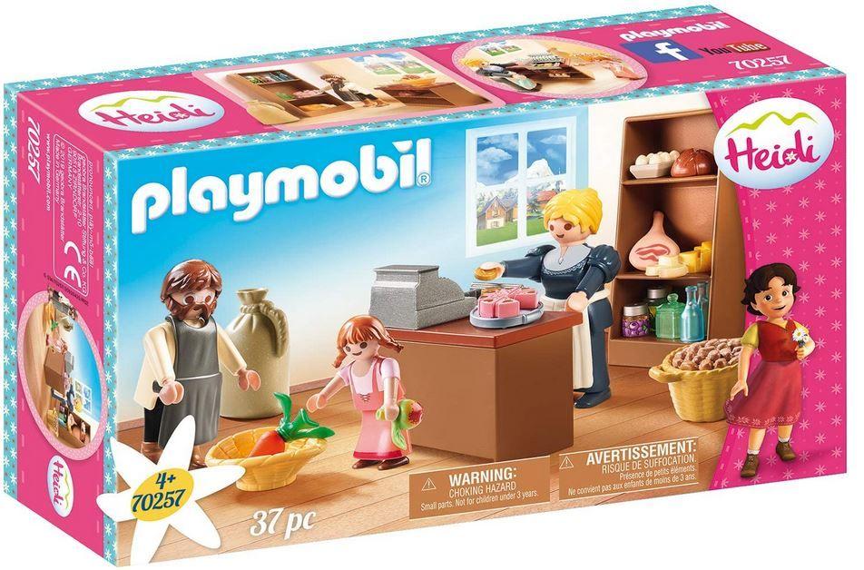 Playmobil Heidis Dorfladen der Familie Keller für 5€ (statt 15€)   prime