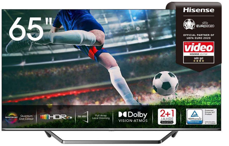 Hisense 65U7QF QLED UHD smart TV für 699€ (statt 766€)