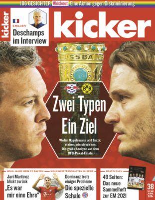 13 Ausgaben vom Kicker Abo für 71,50€ + 70€ Amazon Gutschein