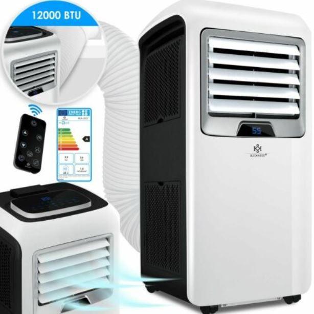 Kesser KE15216 mobile Klimaanlage 3,5kW 4in1 für 359,80€ (statt 470€)