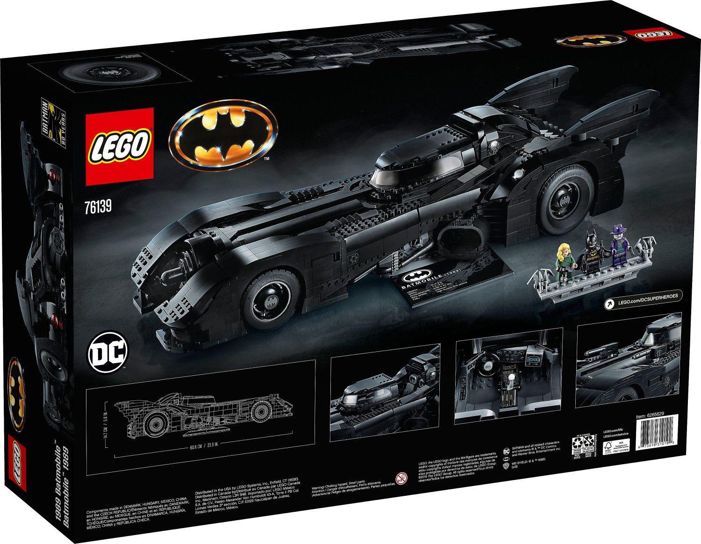Lego DC Super Heroes   1989 Batmobile (76139) für 203,99€ (statt 230€)