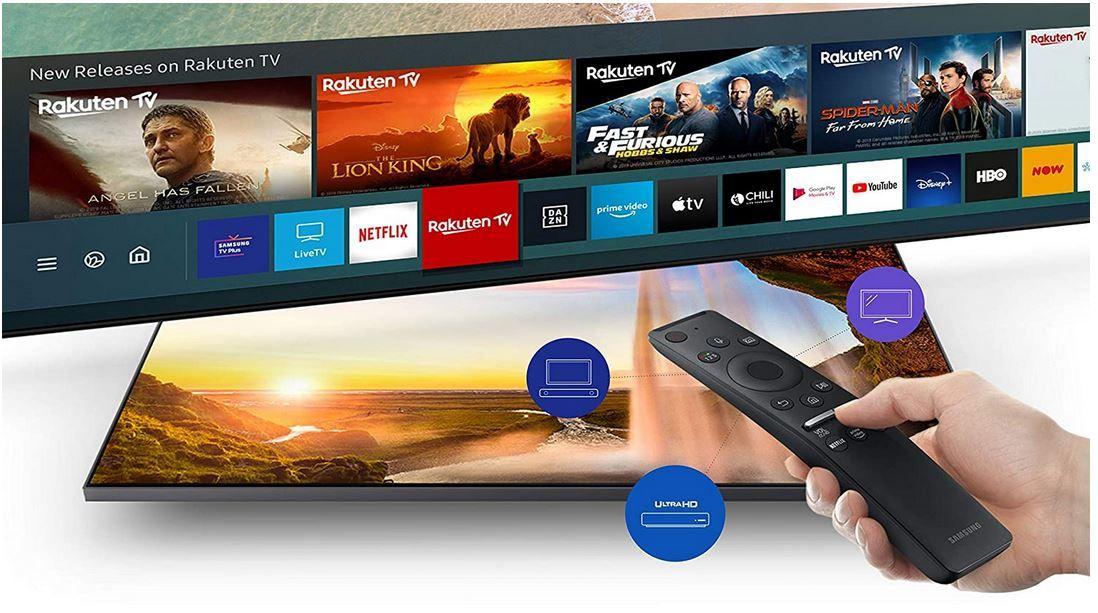Samsung TU8079   82 Zoll UHD Smart TV triple Tuner ab 1.039€ (statt 1.304€) + 150 Geschenk Coupon