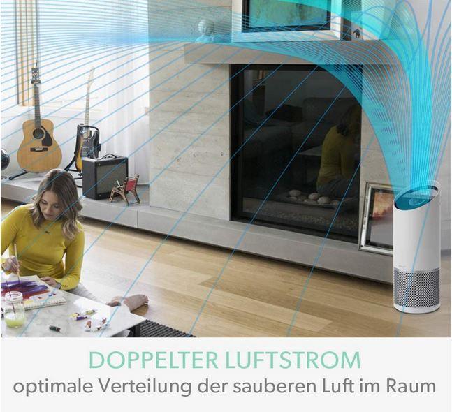 Leitz TruSens Z 1000 Air purifier mit Aktivkohlefilter 23 m² für 89€ (statt 109€)