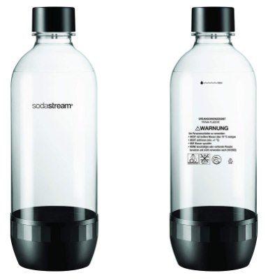 2x Duopack Sodastream Tritan Flaschen (4 x 1 Liter Sprudlerflaschen, BPA Frei) für 14,99€ (statt 28€)