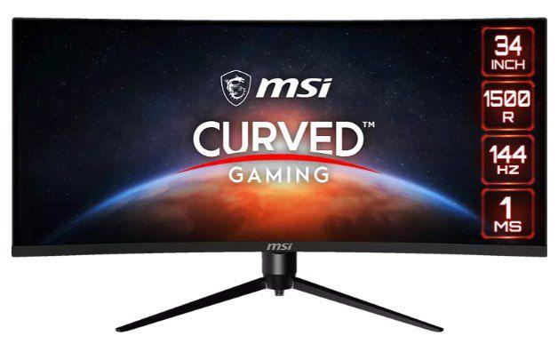 MSI Optix MAG342CQR   34 Zoll UWQHD Monitor (1 ms, 144 Hz) für 394,10€ (statt 452€)