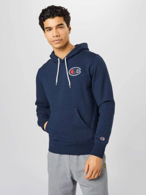 Champion Authentic Athletic Apparel Sweatshirt in Navy für 27,90€ (statt 42€)