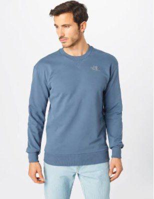 The North Face Sweatshirt in rauchblau für 39,90€ (statt 60€)   S, M, L