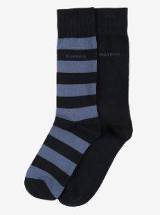 BOSS Casual Socken in rauchblau / dunkelblau für 8,94€ (statt 15€)