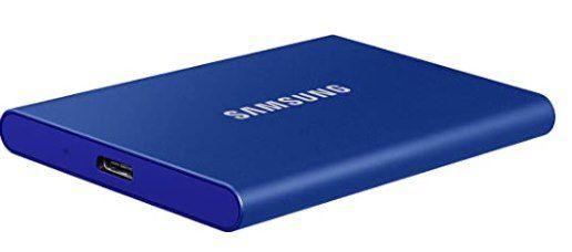 Samsung T7 Portable 1 TB SSD extern Festplatte für 127,29€ (statt 142€)