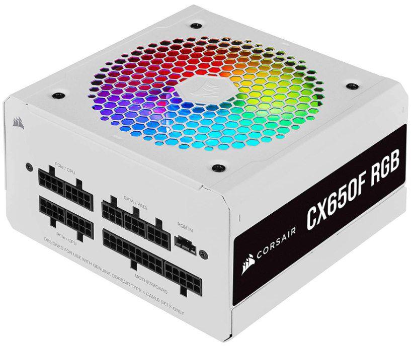 CORSAIR CX650F RGB modulares ATX Netzteil für 62,90€ (statt 83€)