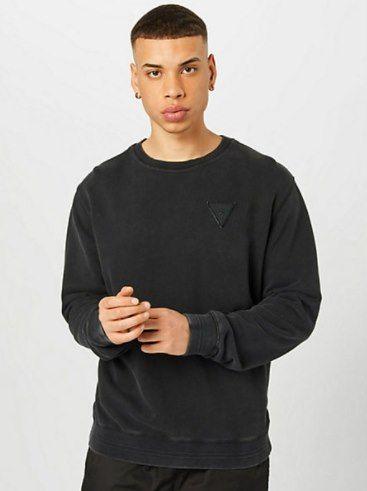 Guess Herren Sweatshirt mit Logo Print für 29,90€ (statt 55€)