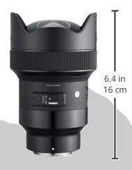 Sigma 14mm F1,8 DG HSM Art Objektiv für Sony E für 1.127,46€ (statt 1.474€)
