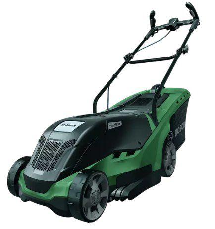 BOSCH UniversalRotak 490 Elektro Rasenmäher mit 34 cm Schnittbreite für 119€ (statt 155€)