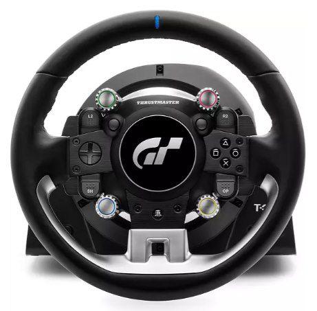 Thrustmaster T GT II Rennlenkrad mit 3 Pedalen für 627,49€ (statt 749€)