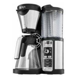 Ninja CF060EU Kaffeemaschine in Schwarz/Silber für 47,98€ (statt 69€)