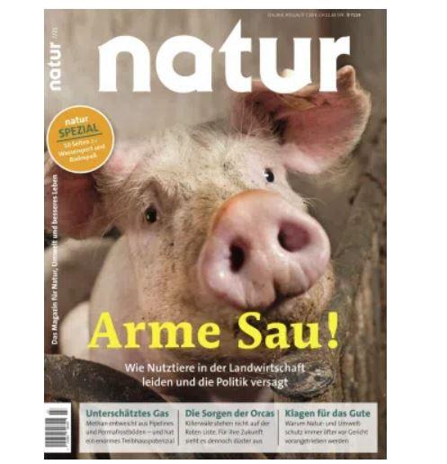 14 Ausgaben der Natur nur 96,88€ + Prämie: 75€ Verrechnungs-Scheck