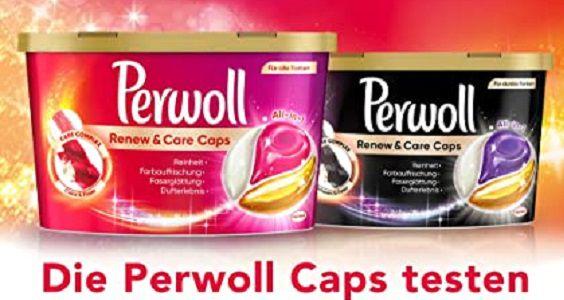 Perwoll Renew & Care Caps kostenlos ausprobieren