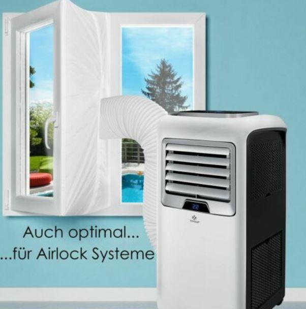 KESSER mobile Klimaanlage 7.000   9.000 BTU 4in1 für 179,80€ (statt 200€)