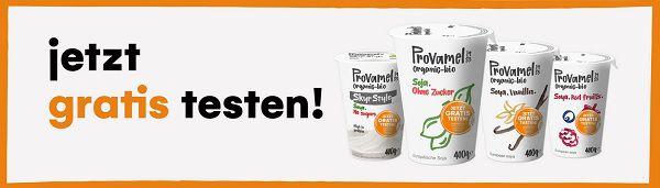 Den pflanzlichen Joghurt von Provamel gratis ausprobieren