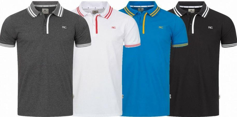Rock Creek H 283 Herren Poloshirts bis 5XL für je 16,90€ (statt 20€)