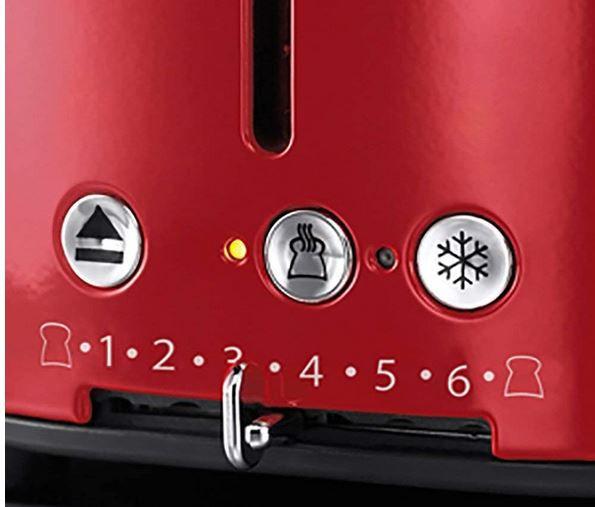 Russell Hobbs Ribbon   Retro Toaster für 32,29€ (statt 51€)