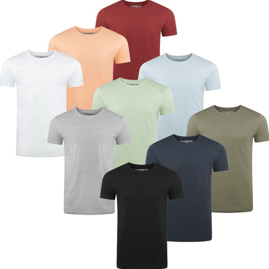 riverso RIVAaron 4er Pack Herren T Shirt Rundkragen für 34,95€ (statt 64?€)