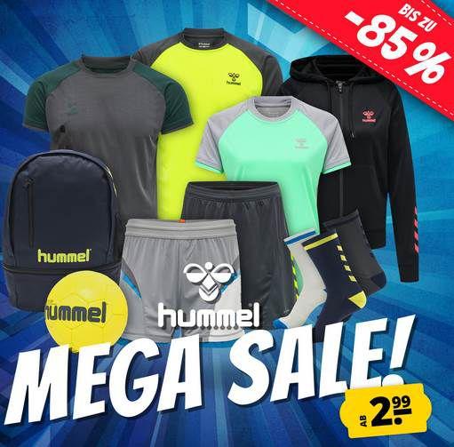 Hummel Mega Sale bis 85% Rabatt – z.B. Authentic Charge Sporttasche für 8,99€ (statt 24€)