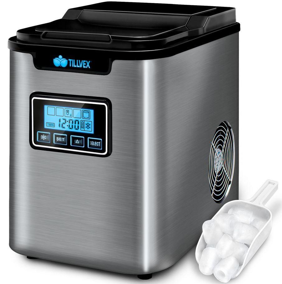 tillvex 1070 – 2,2l Eiswürfelmaschine für 109,99€ (statt 130€)