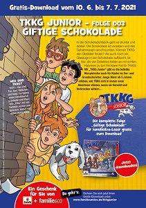 Gratis Download: TKKG Junior – Giftige Schokolade
