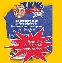 Gratis-Download: TKKG Junior – Giftige Schokolade
