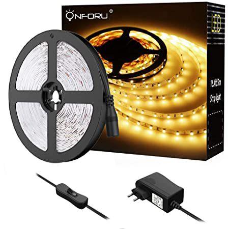 Onforu 5M LED Strip in Warm  oder Kaltweiß für je 7,99€ (statt 15€)   Prime