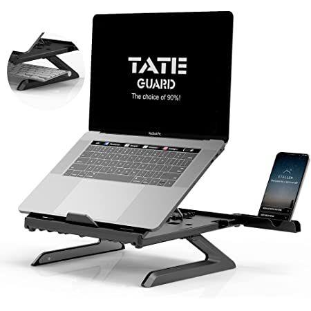TATE GUARD Laptopständer inkl. Handyhalterung für 10,49€ (statt 21€) – Prime