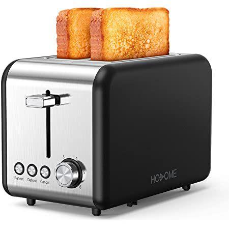 Hosome Toaster mit 850W & 6 Stufen für 29,99€ (statt 36€)
