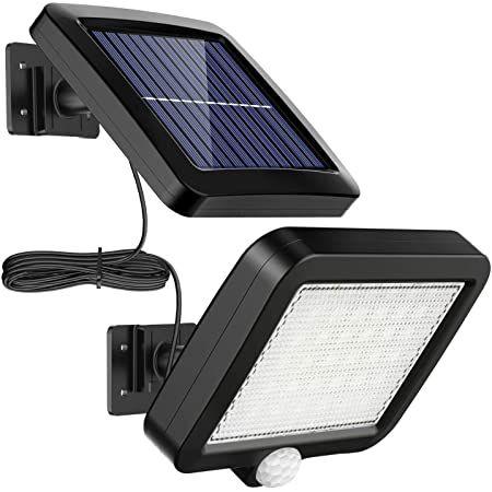 MPJ Solar-Außenlampe mit 56 LEDs inkl. Bewegungsmelder für 9,44€ (statt 19€) – Prime