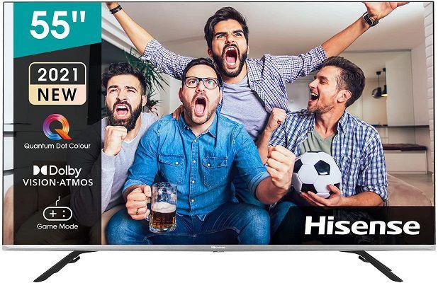 Hisense 55E76GQ 55 QLED TV für 499€ (statt 549€)