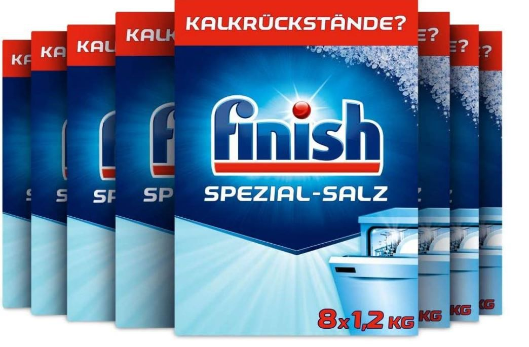 Finish Spezial Spülmaschinensalz Multipack 8 x 1,2kg ab 3,40€ (statt 6€)