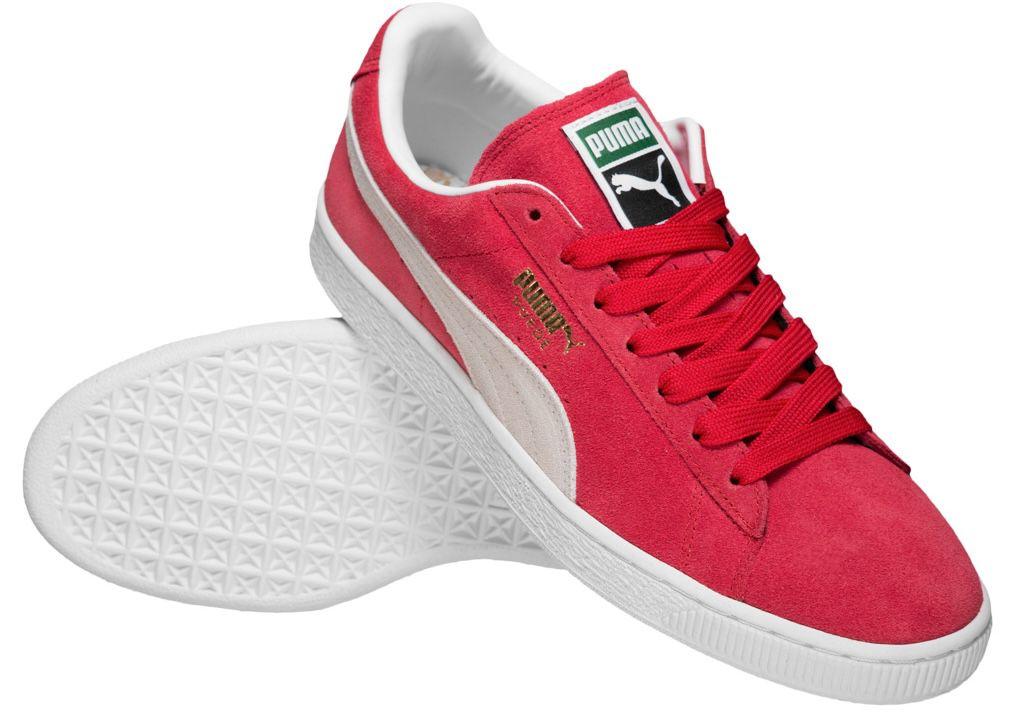 Puma Suede Classic Leder Sneaker in Rot für 38,89€(statt 50€)