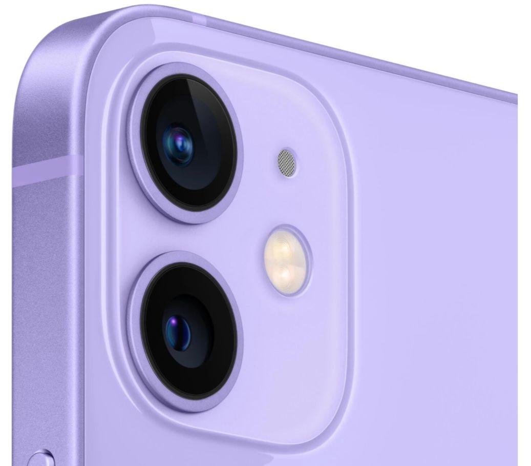 Apple iPhone 12 mini 64GB Violett für 549€ (statt 613€)